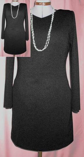 Маленькое черное платье выкройка.  540 pxРазмер.  Mikaktilar.