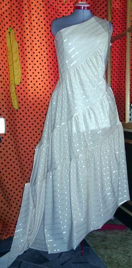 Платье для выпускного бала, макет