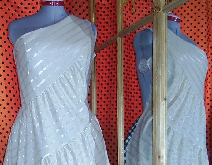 Платье для выпускного бала, фрагмент верха