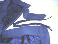 Очень важно   не растерять детали, брюки в разобранном виде
